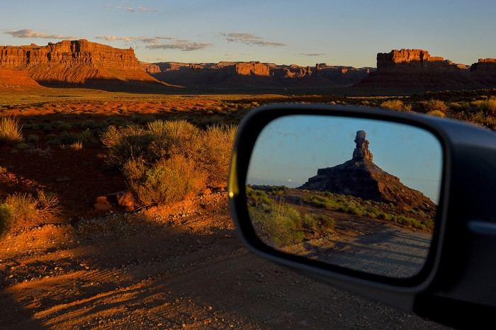 Sun rises over Valley of The Gods inside Bears Ears National Monument