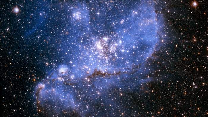 Hubble Telescope images of the Small Magellanic Cloud