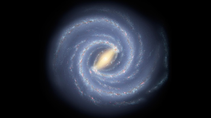 Artist's concept of the Milky Way galaxy