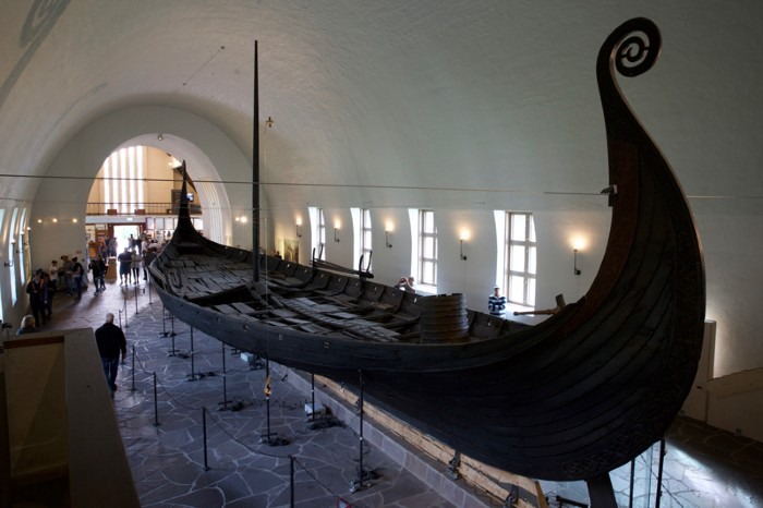 A viking ship