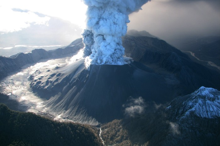 Chaitén volcanic eruption