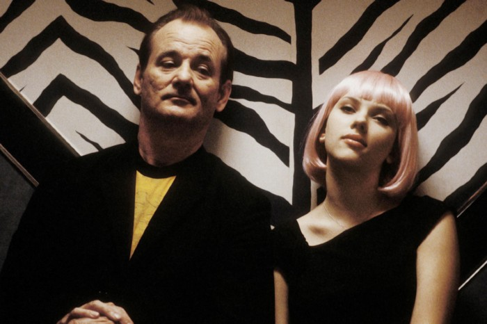 Actors Bill Murray and Scarlett Johansson