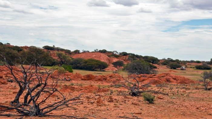 Barlangi Hill, site of the Yarrabubba impact in Western Australia.