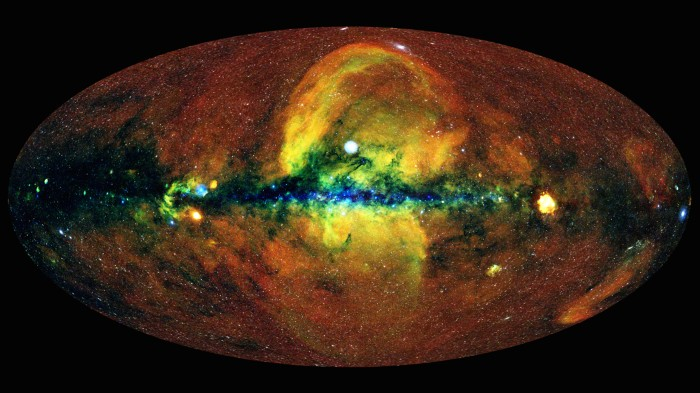 Conservation Africa News - A colourful view of the universe as seen with the eROSITA X-ray telescope