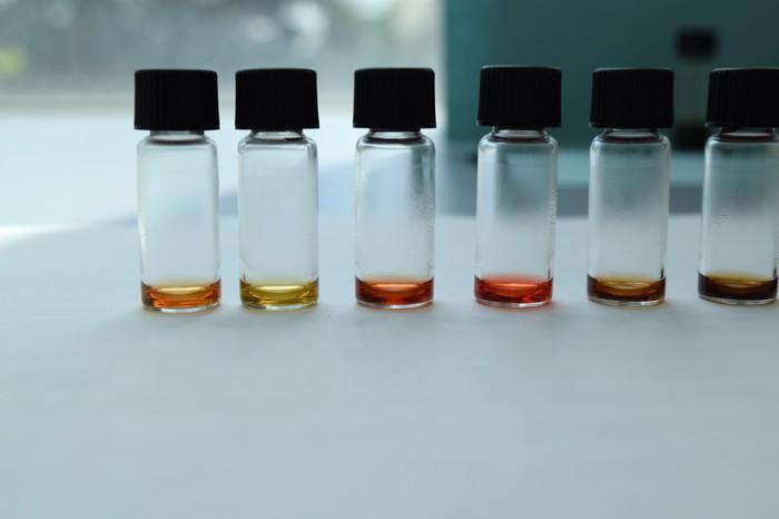 Pigments supernatants