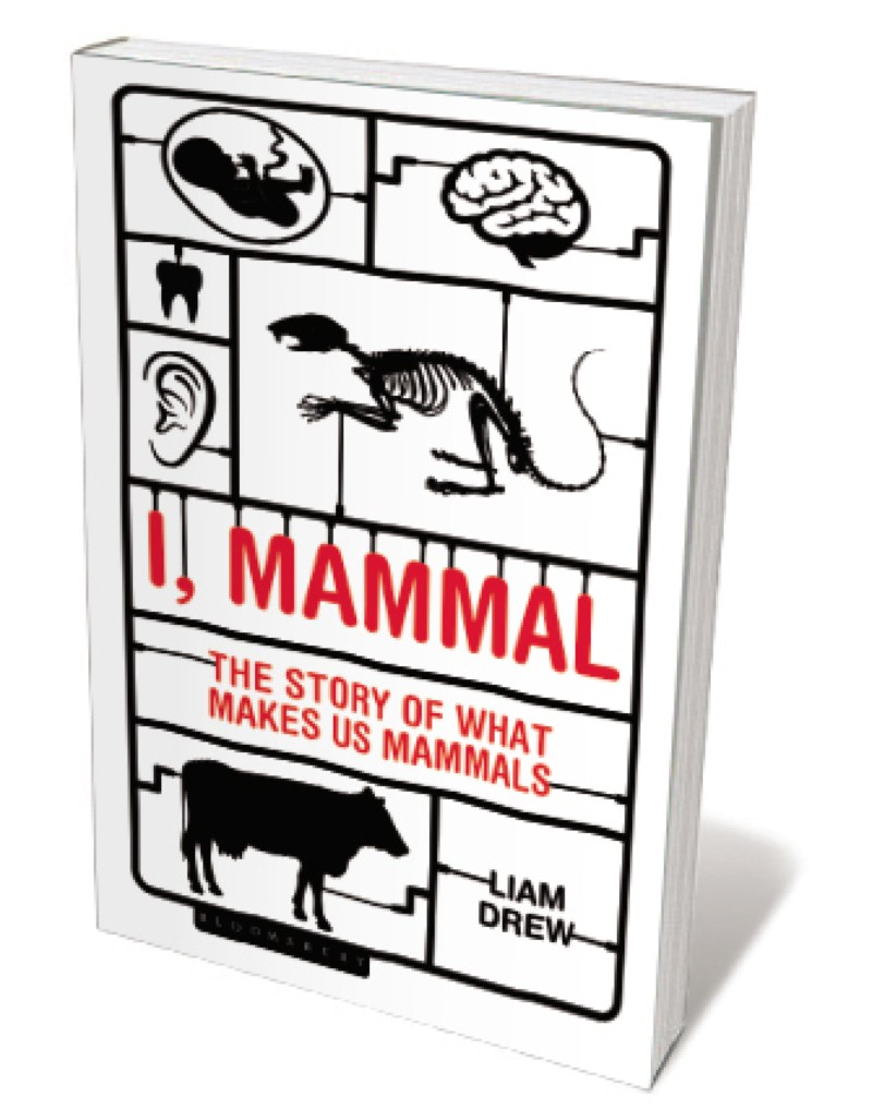 Book jacket 'I, Mammal'