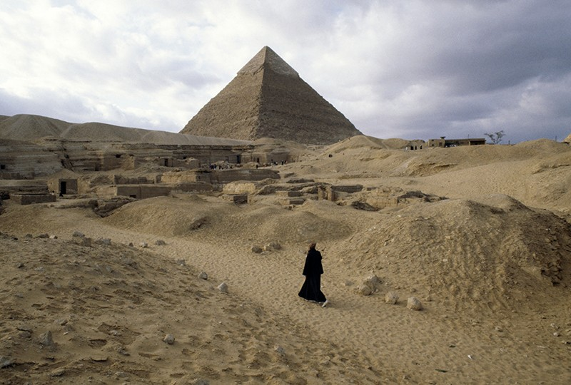 Great Pyramid in Giza.