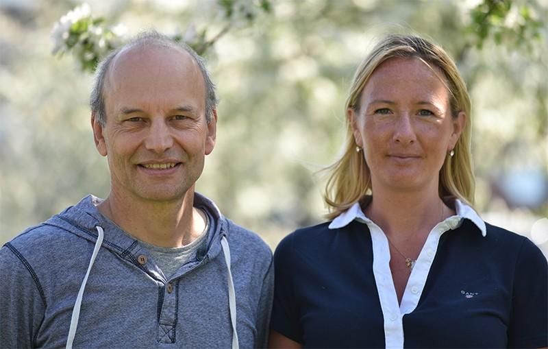 Professor Peter Eklöv en Dr. Oona Lönnstedt