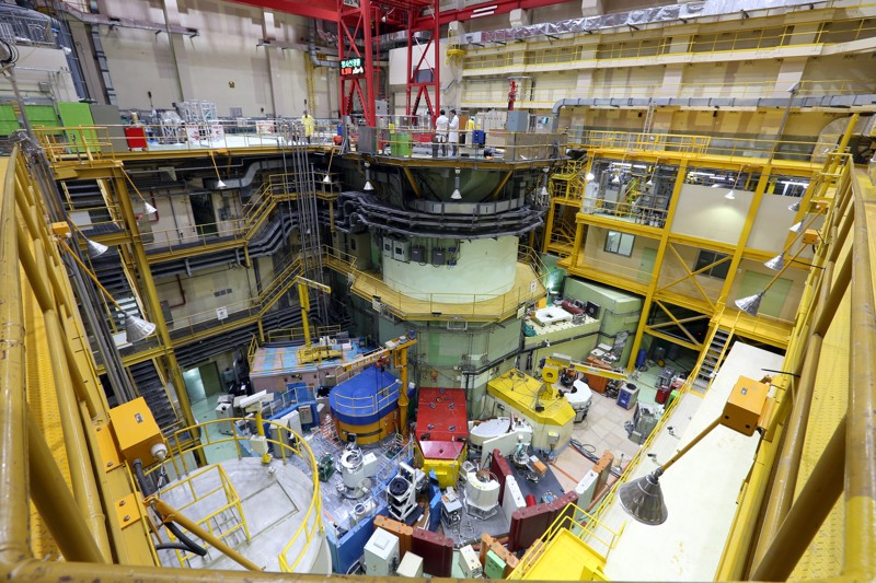 Engineers inspect research reactor in Daejeon