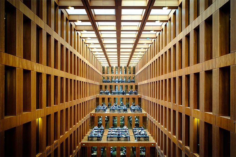 Central Library of Humboldt University, Berlin.