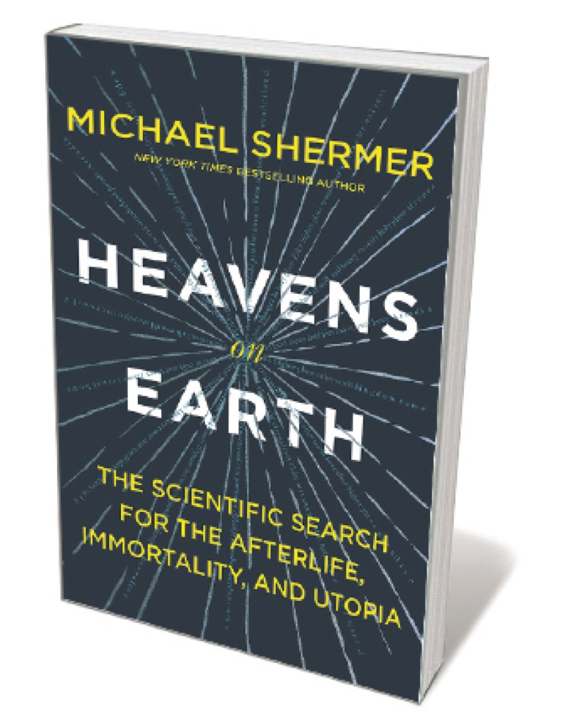 Book jacket 'Heaven on Earth'