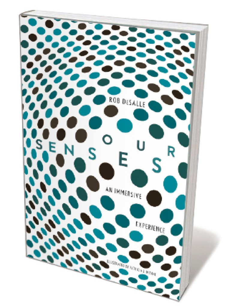 Book jacket 'Our Senses'