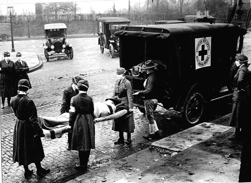 Influenza epidemic, 1918