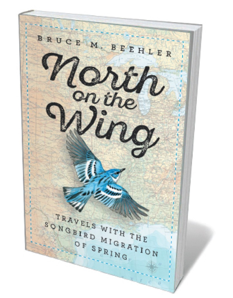Book jacket 'North on the Wing'