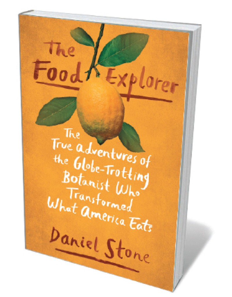 Book jacket - Food Explorer