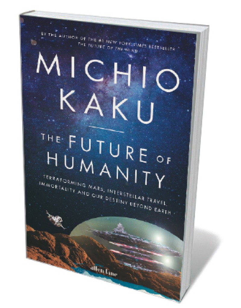 Book jacket - Future of Humanity