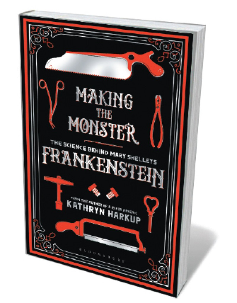 Book jacket - Making the Monster