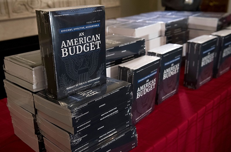 Copies of US budget request