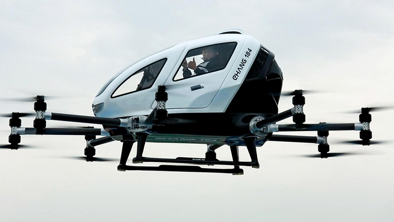 The EHANG 184 Manned Passenger Drone