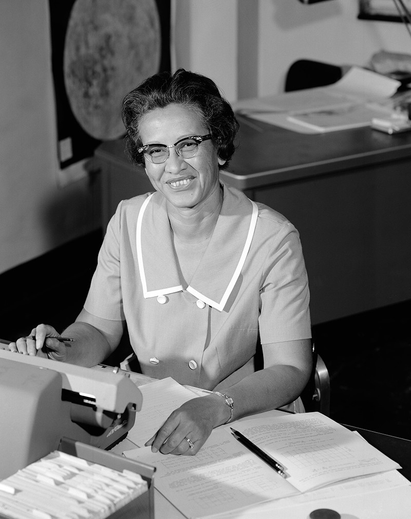 NASA mathematician Katherine Johnson