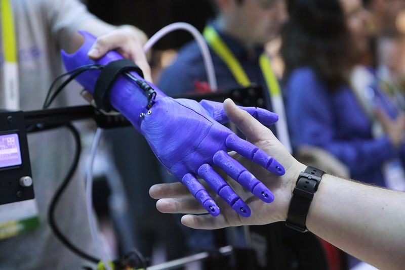 Four-in-one 3D printer paves way for custom-made robots and