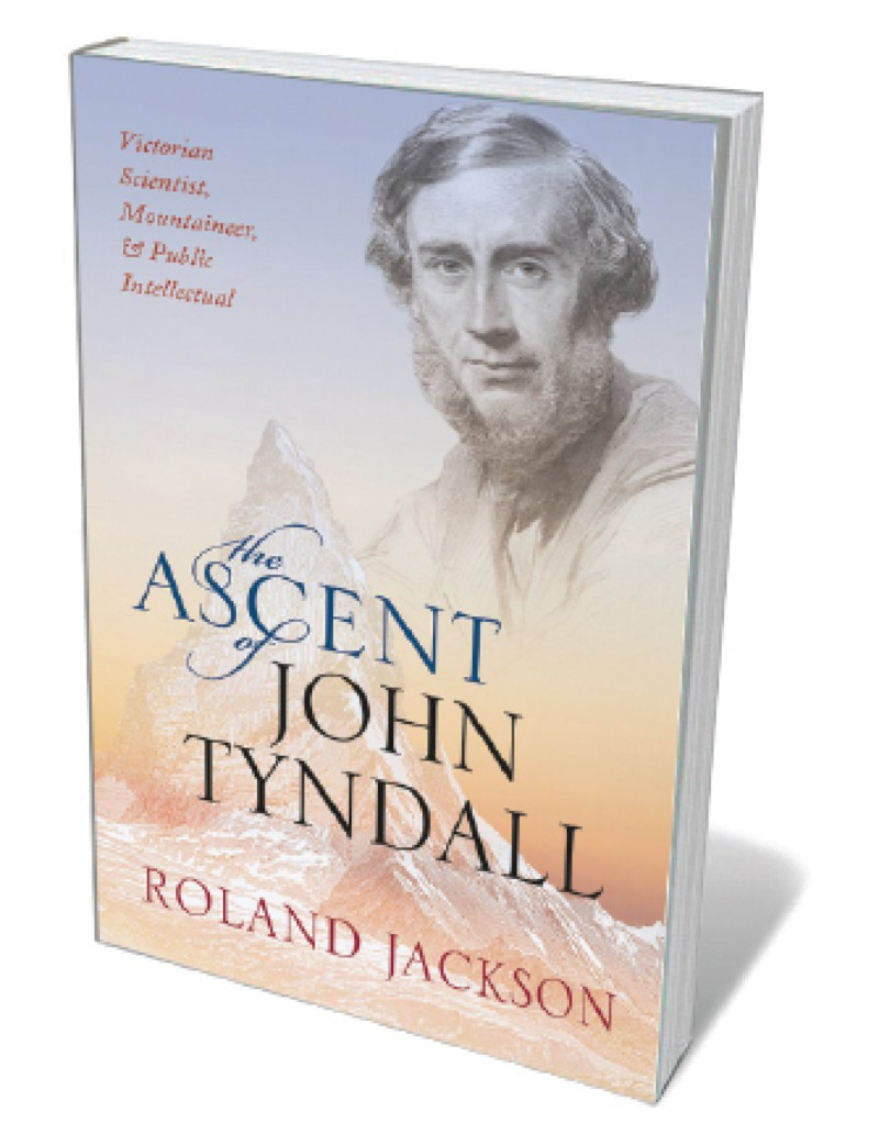 Book jacket 'Ascent of John lyndall'