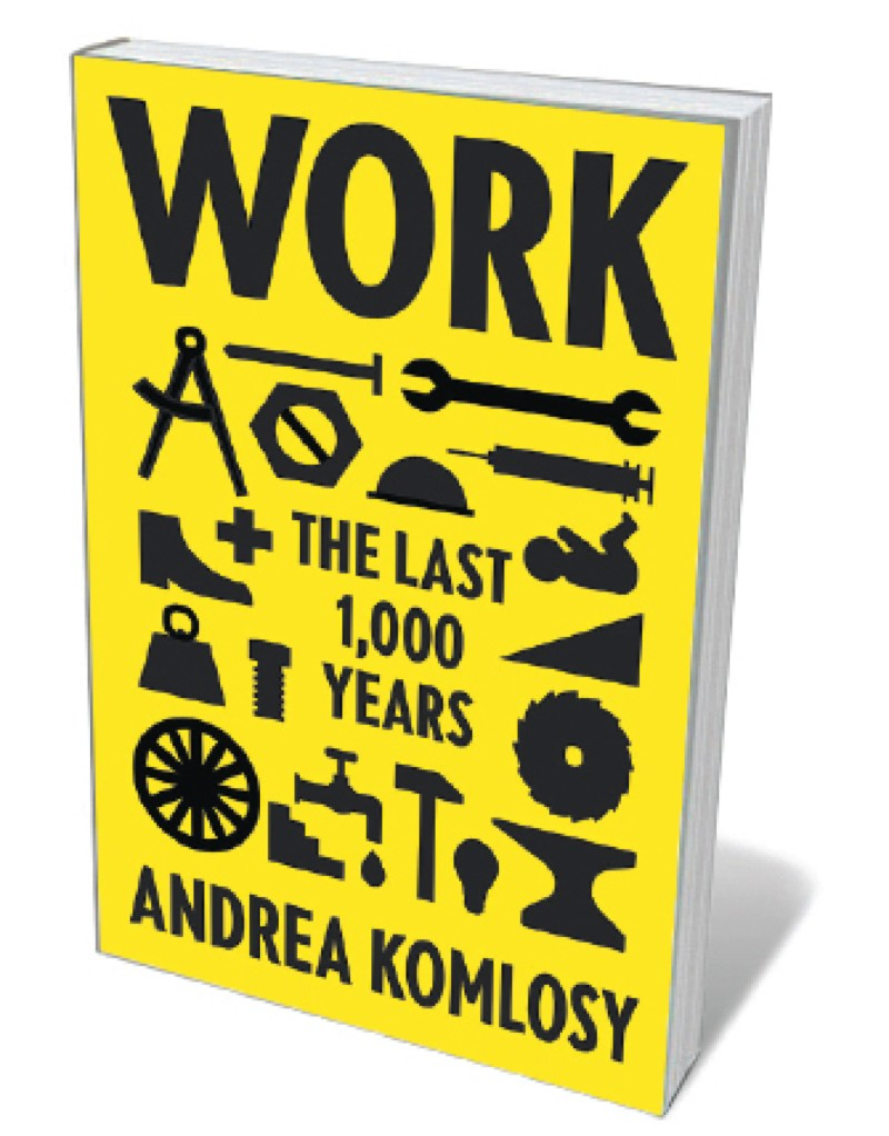 Book jacket 'Work'