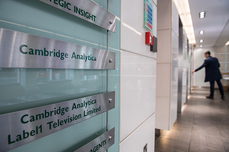 Cambridge Analytica offices in London