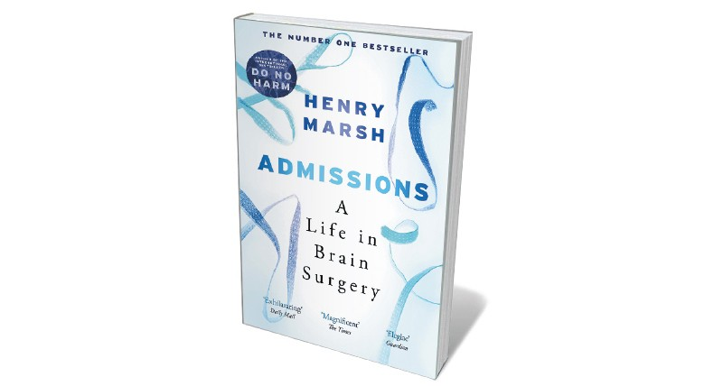 Book jacket 'Admissions'