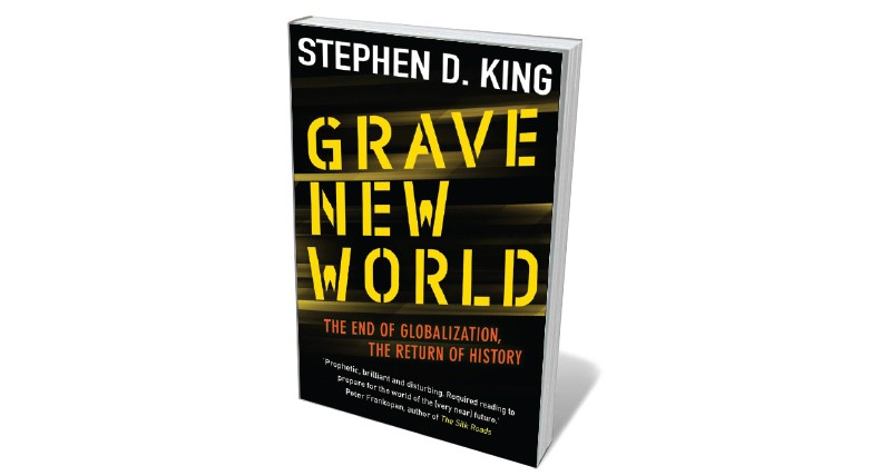 Book jacket 'Grave New World'