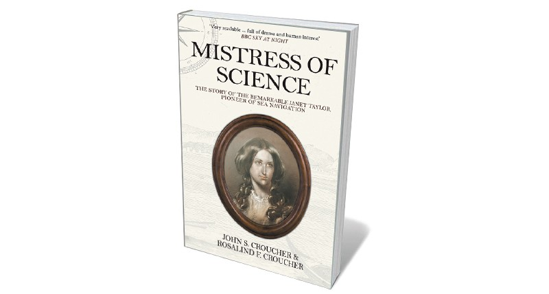 Book jacket 'Mistress of Science'