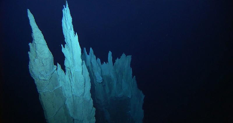 The carbonate spires of the Lost City Hydrothermal Field