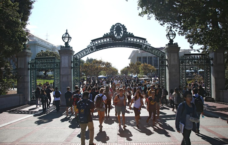 The University of California at Berkeley campus