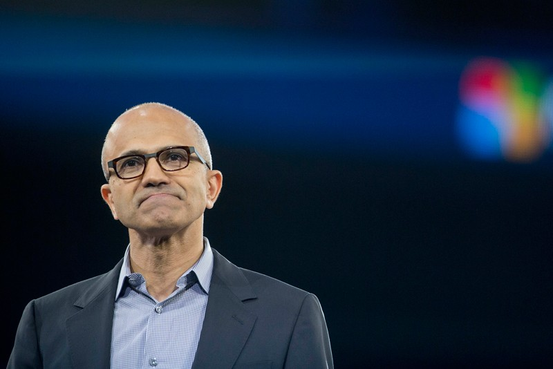 Satya Nadella, chief executive officer of Microsoft Corp.