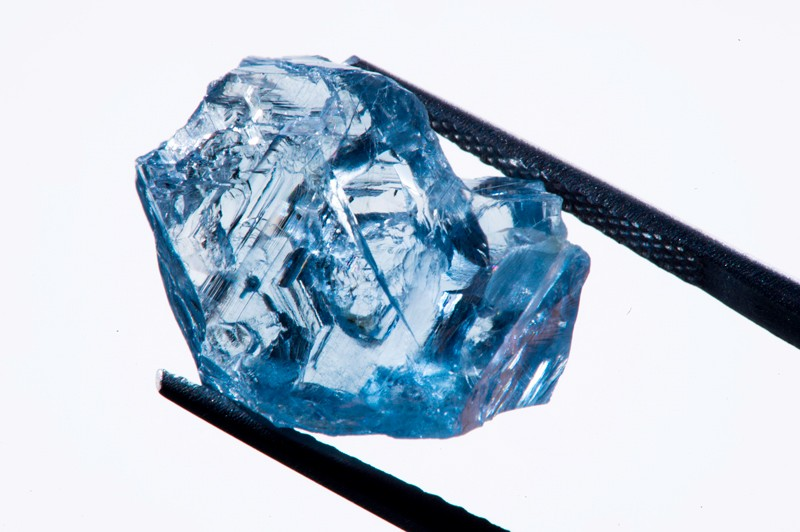 A high quality 25.5 carat blue diamond