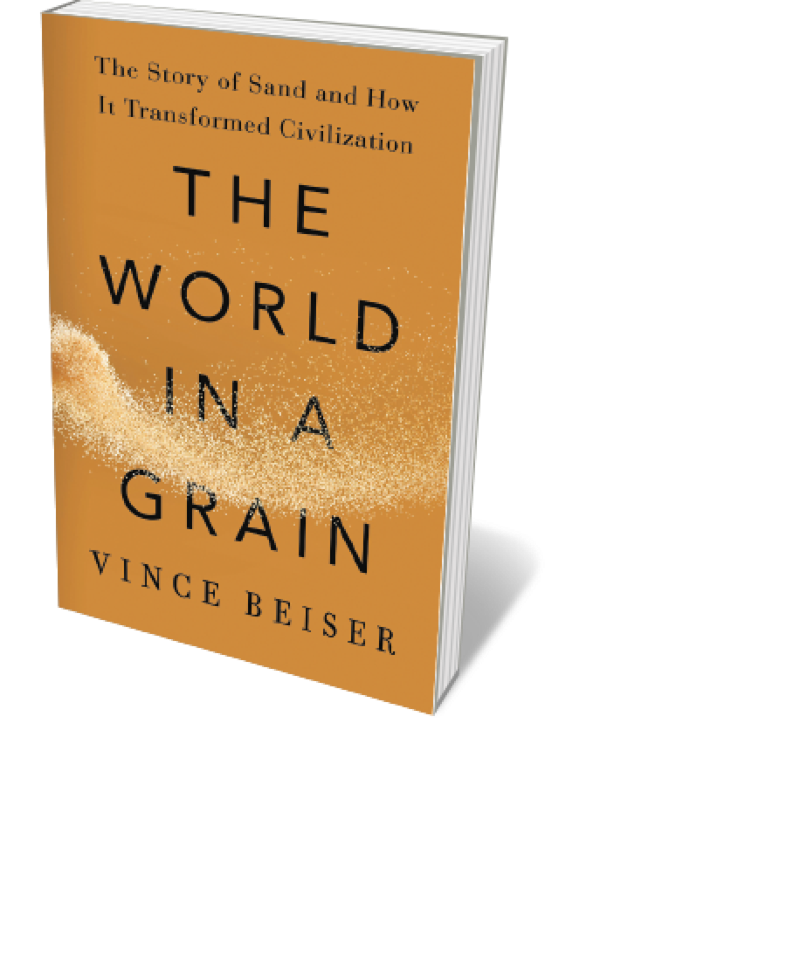 Book jacket 'World in a Grain'