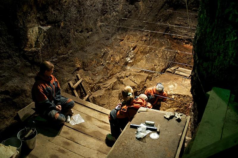 Excavaciones en el interior de Denisova, al sur de Siberia. Foto: Bence Viola/Max Planck Institute for Evolutionary Anthropology