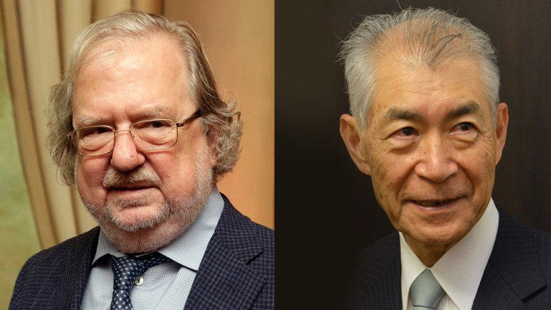 Left: James Allison, Right: Tasuku Honjo