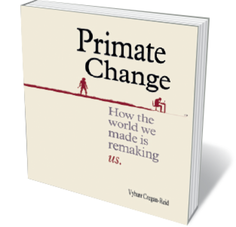 Book jacket 'Primate Change'