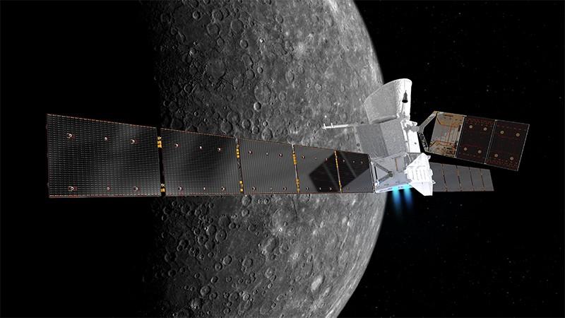 Ilration Of Bepicolombo Scanning Mercury