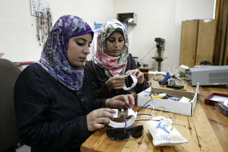 Researchers in Gaza City