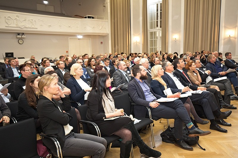 The audience at OpenAccess 2020 in the Harnack House of the Max Planck Society in Berlin