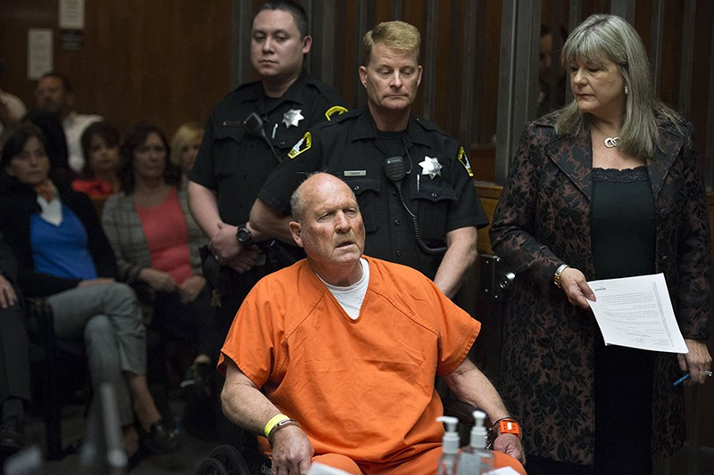 : Joseph James DeAngelo, the suspected East Area Rapist, in court