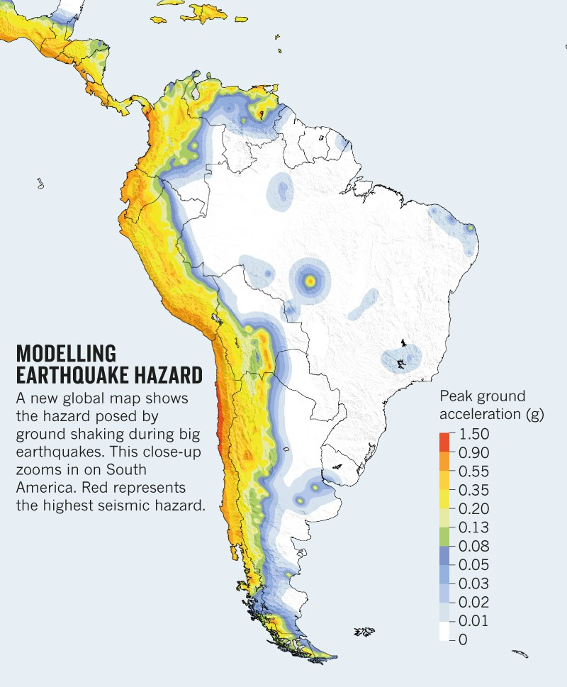 Earthquake Risk Maps Pinpoint World S Most Vulnerable Areas