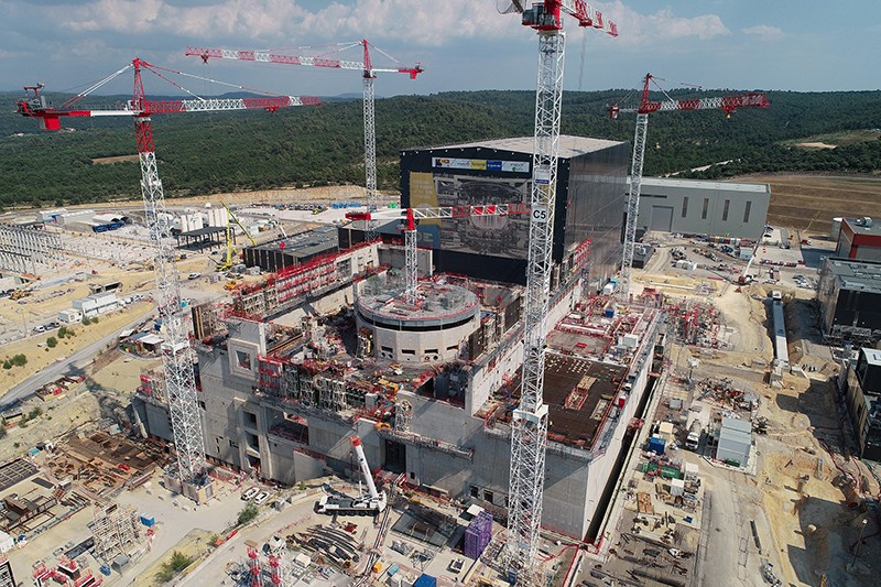 The ITER construction site