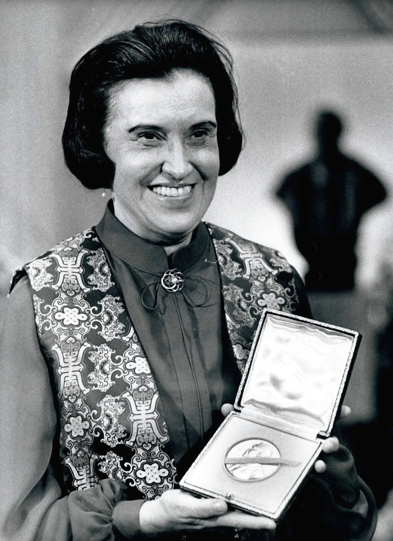 Medicine Nobel Laureate Rosalyn Yalow