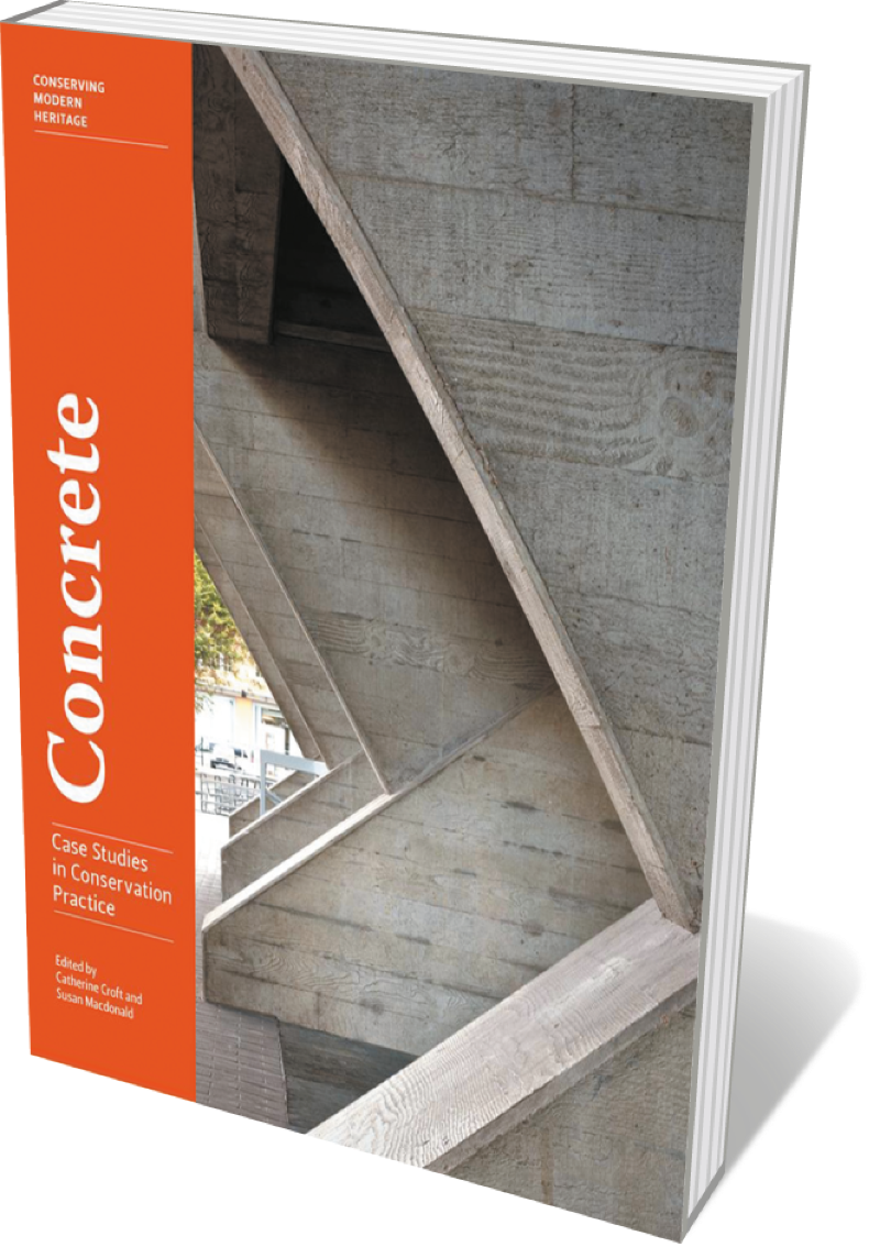 Book jacket 'Concrete'