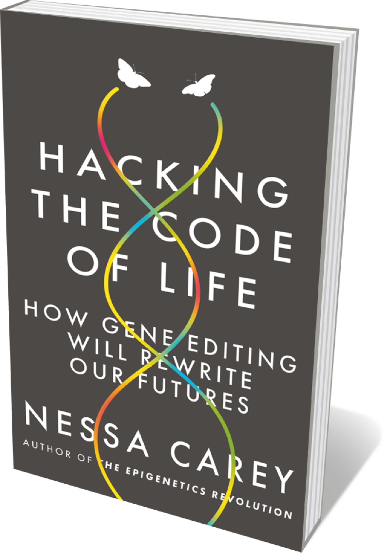 The cover of Hacking the Code of Life