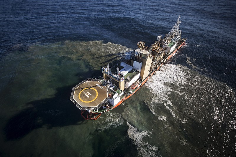 Scientists track damage from controversial deep-sea mining method
