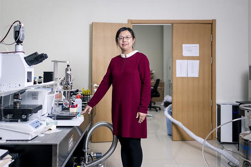 High-pressure research and a return to China: meet Haiyan Zheng